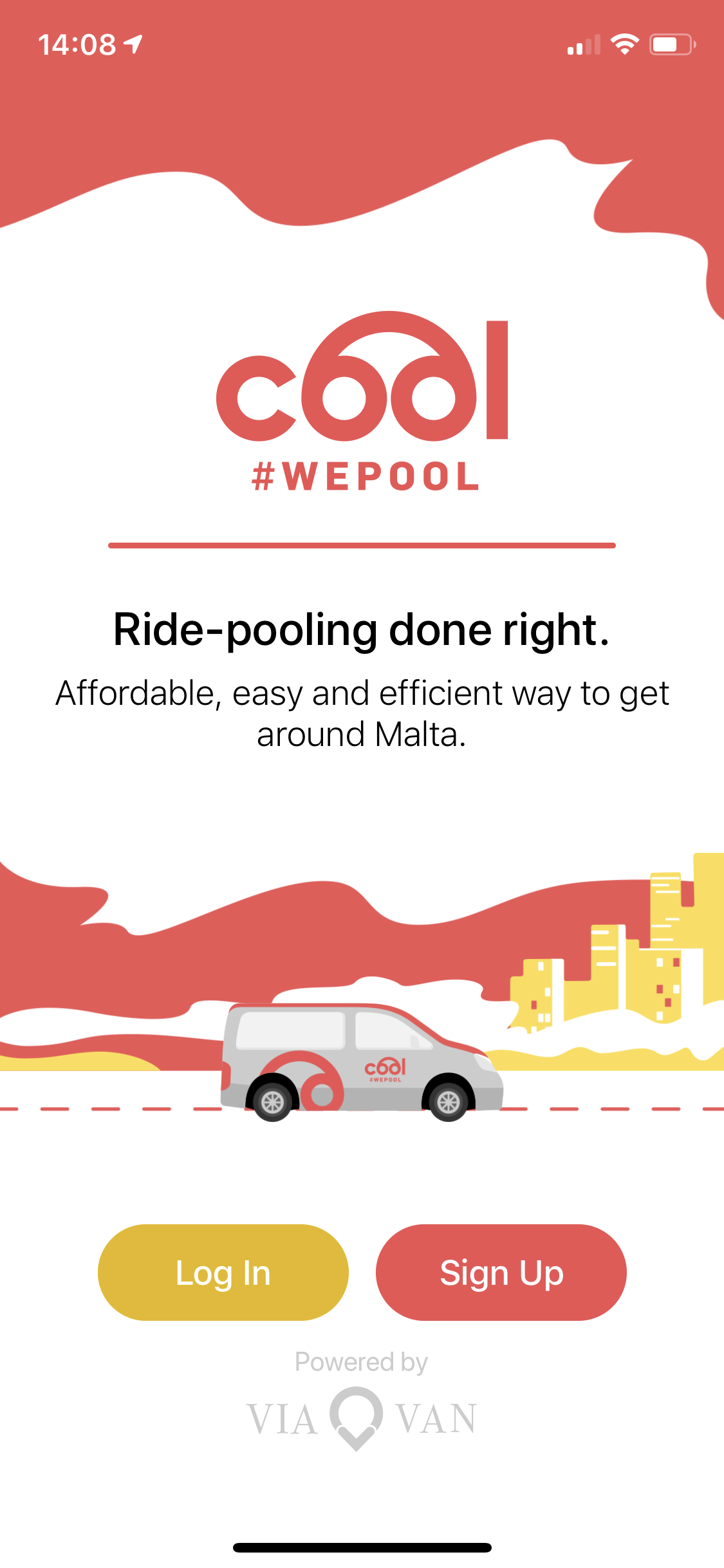 Cool Ride Pooling App