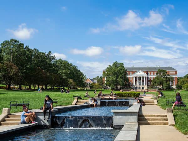 University campus of UMD