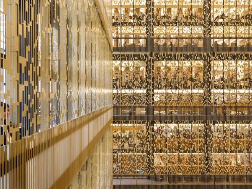 NYU Bobst Library Interior Image