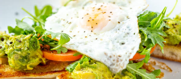 Image of Drive Shack Avocado Toast With Egg