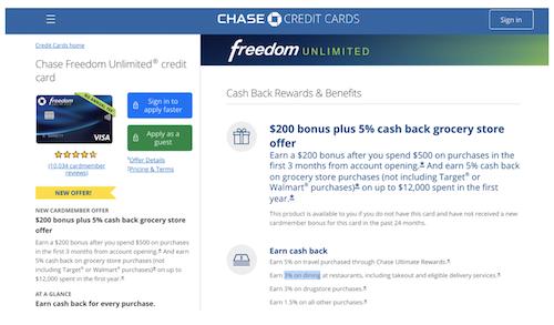 Chase Freedom 1