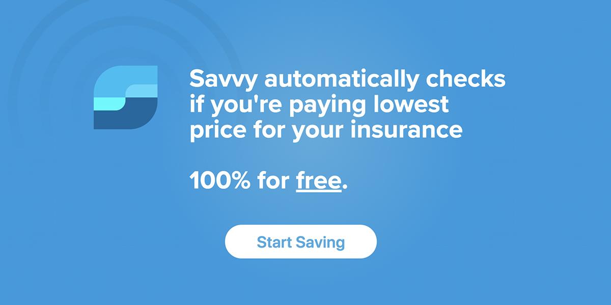 savvy insurance home page 100% free start saving