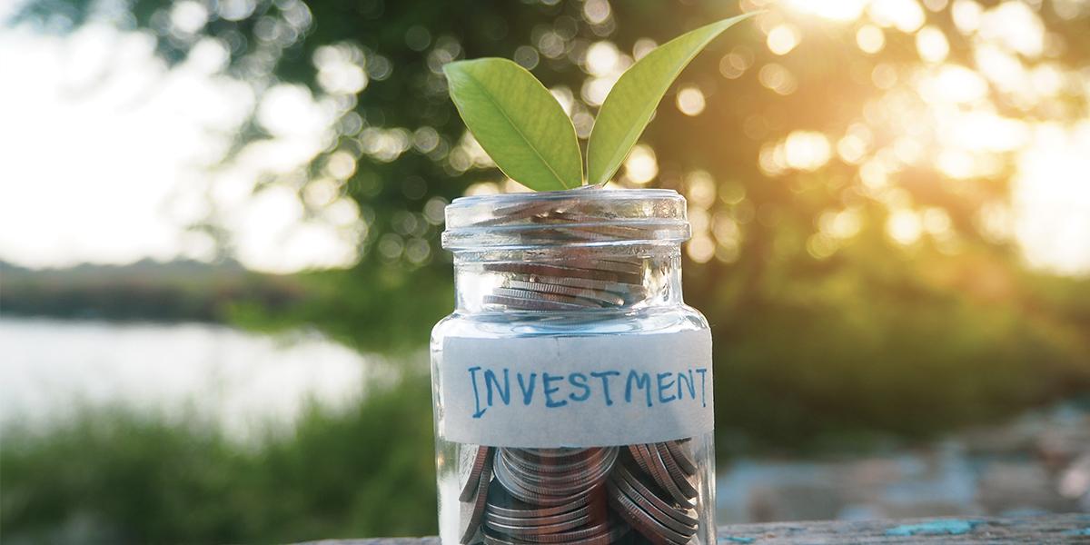 Investment jar, savings
