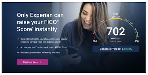 Experian Boost 1