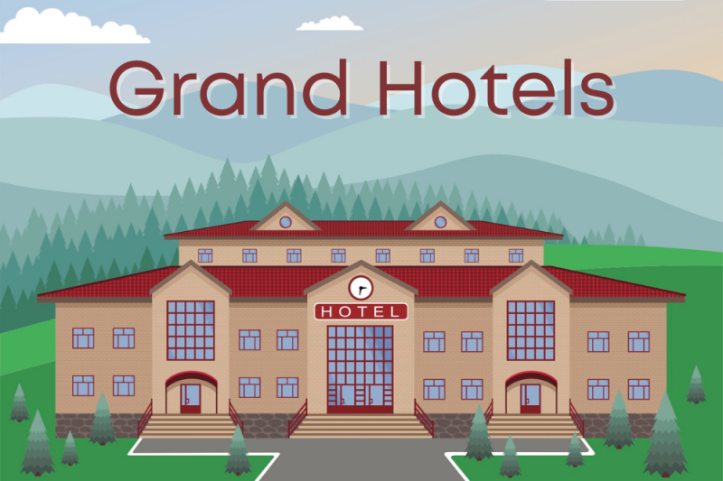 12 Grand Hotels to Safely Social Distance and Still Get Away from It All