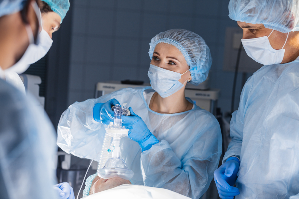 Nurse anesthesiologist