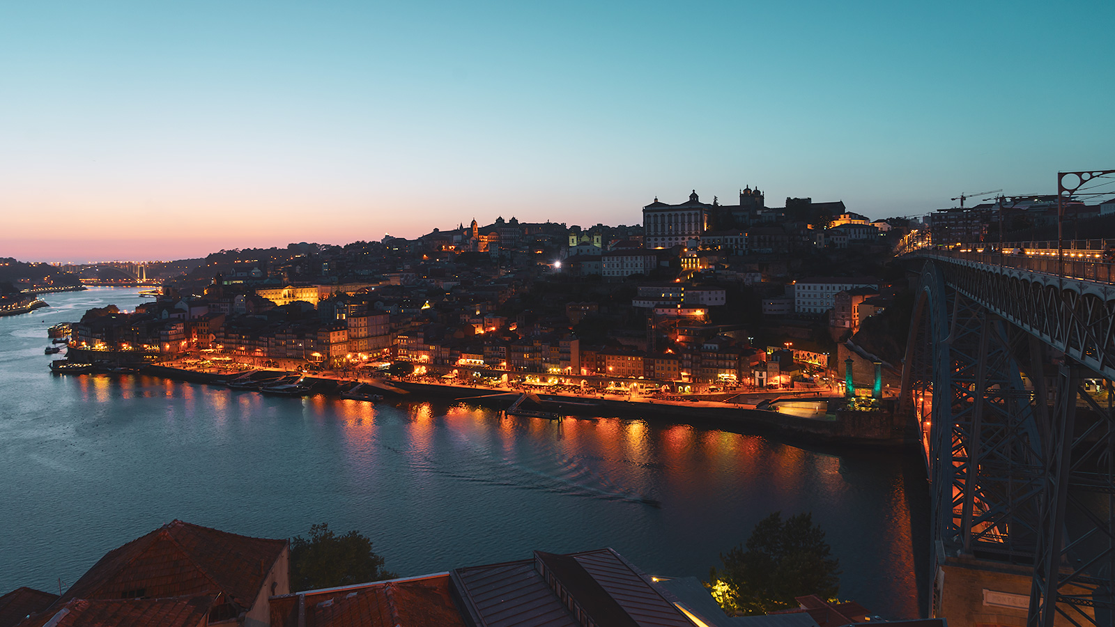 View over Douro River, Porto, Portugal
