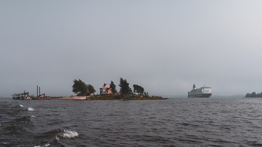 Katajanokanluoto – tiny restaurant and excursion island near the center of Helsinki