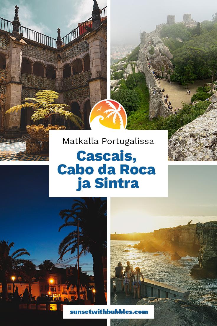 Pinterest: Matkalla Portugalissa - Cascais, Cabo da Roca ja Sintra
