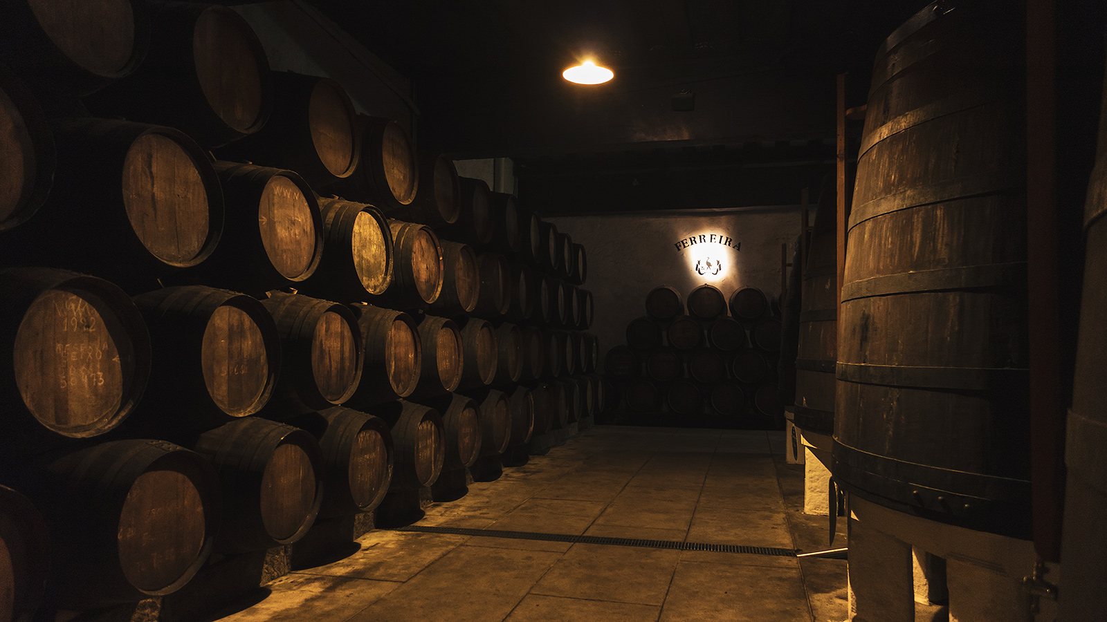 Ferreira Port Wine Cellar, Porto, Portugal