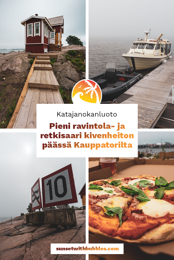 Pinterest: Katajanokanluonto: Pieni ravintola- ja retkisaari kivenheiton päässä Kauppatorilta