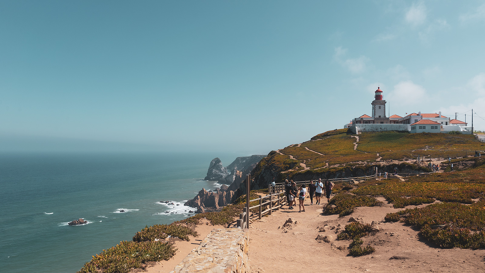 eight of the cliffs at Cabo da Roca is over 100 meters