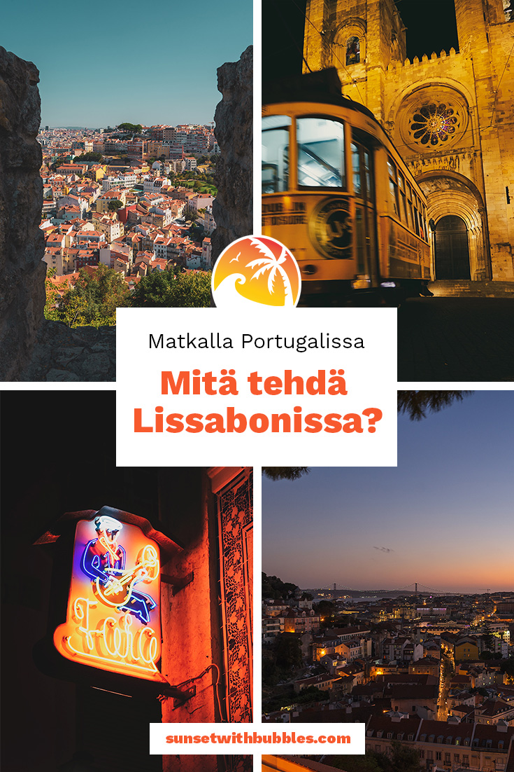 Pinterest: Matkalla Portugalissa - mitä tehdä Lissabonissa?