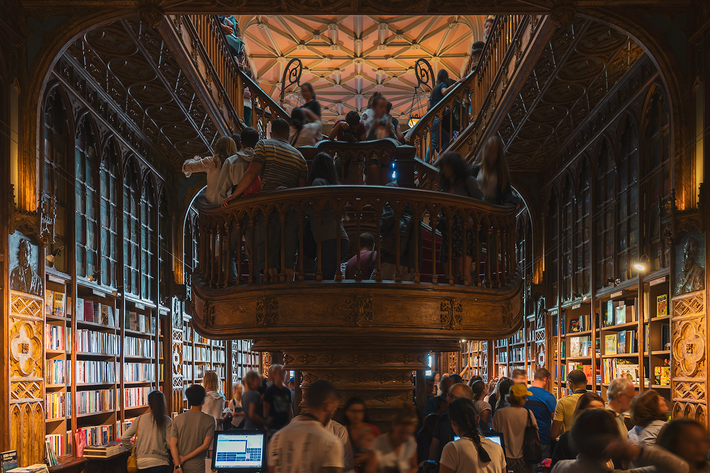 Livraria Lello - Harry Potter bookstore in Porto