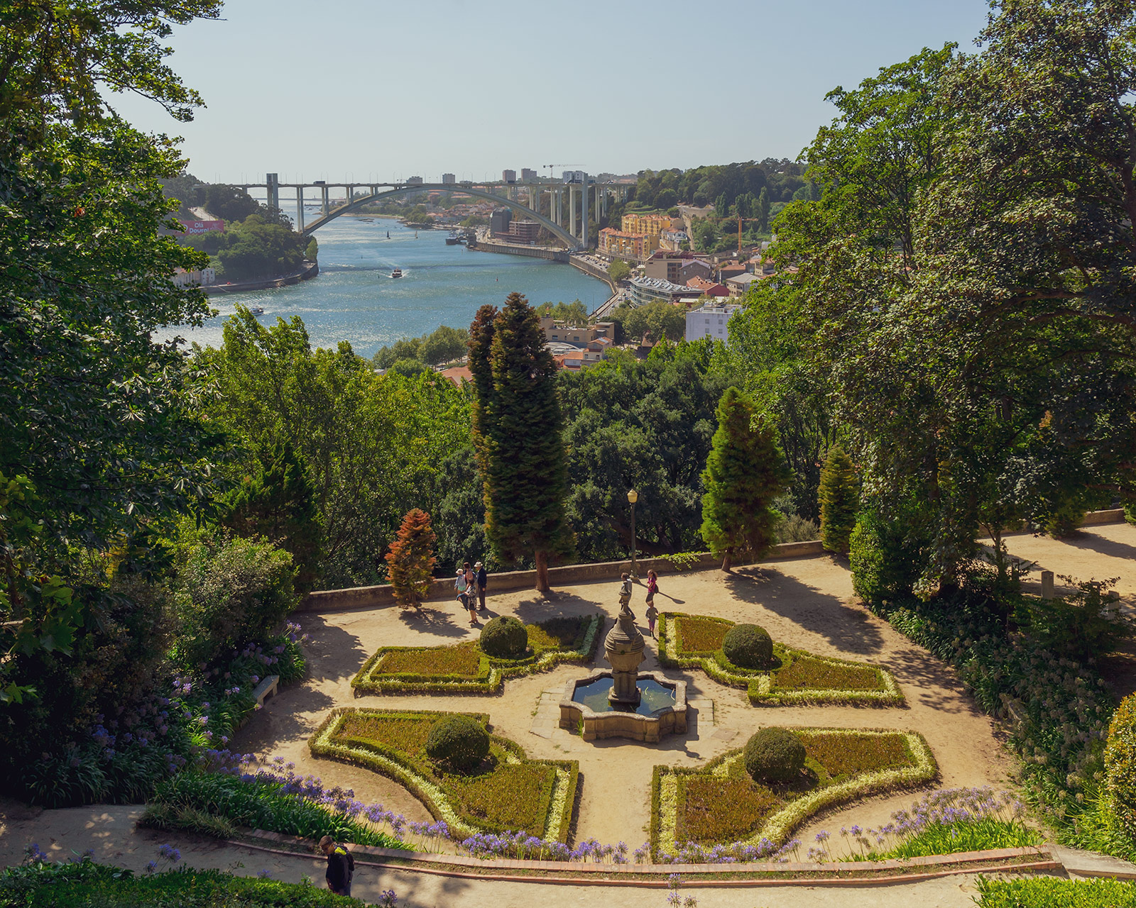 Views from the Jardins do Palácio de Cristal, Porto