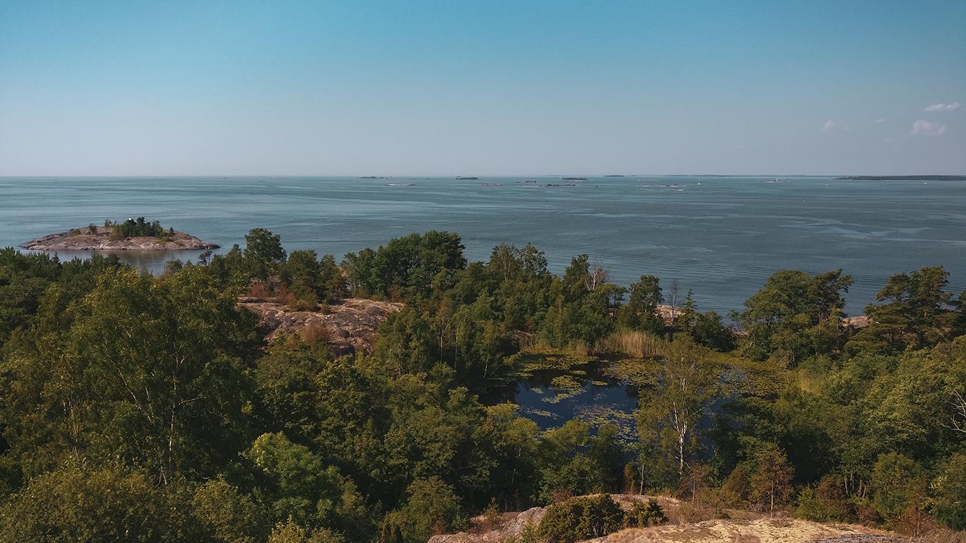 Views from the Alexander's Battery, Vallisaari