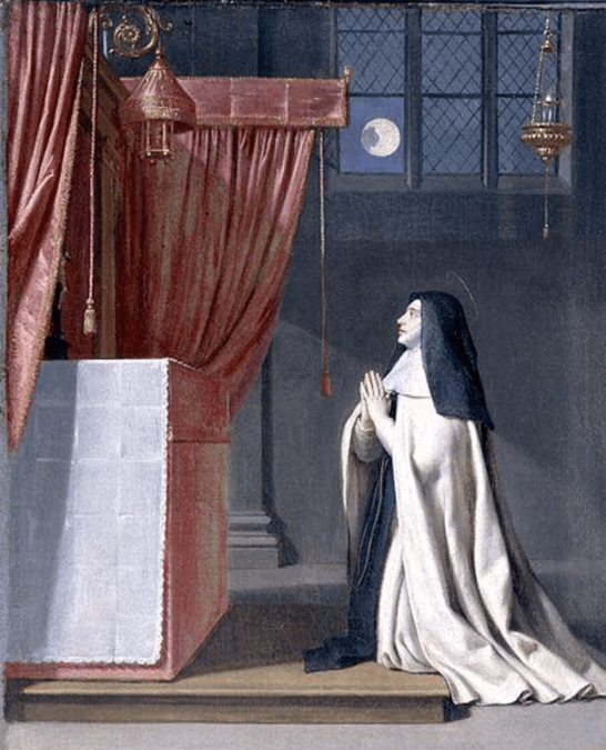 The Vision of St. Juliana, by Philippe de Champaigne