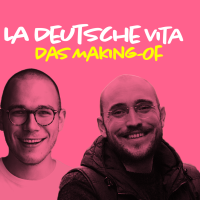 Image of the hosts of the podcast - La Deutsche vita