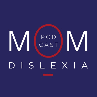 MomDislexia podcast cover