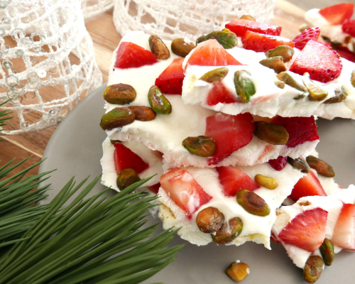 Holiday Yogurt Bark