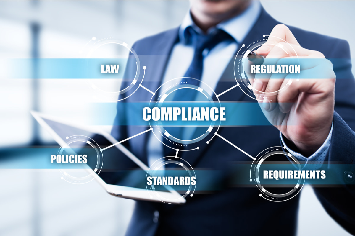 Regulatory compliance concept