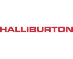 Halliburton Company logo in red