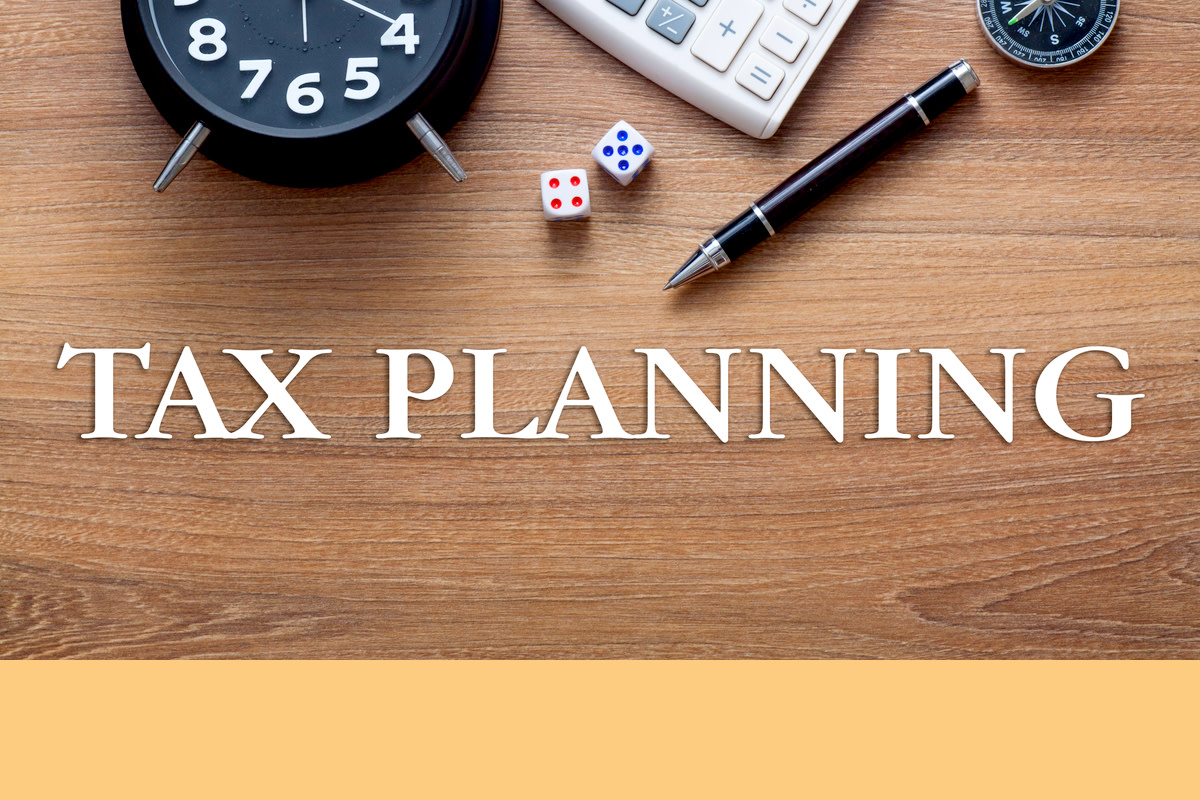 Tax planning concept