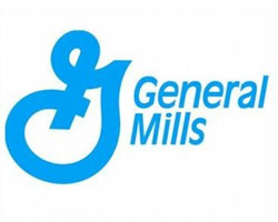 General Mills logo in blue
