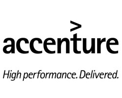 Accenture logo with tagline