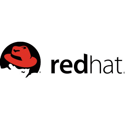 Red Hat logo red and black