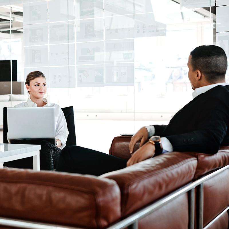 om Dating var som en anställnings intervju