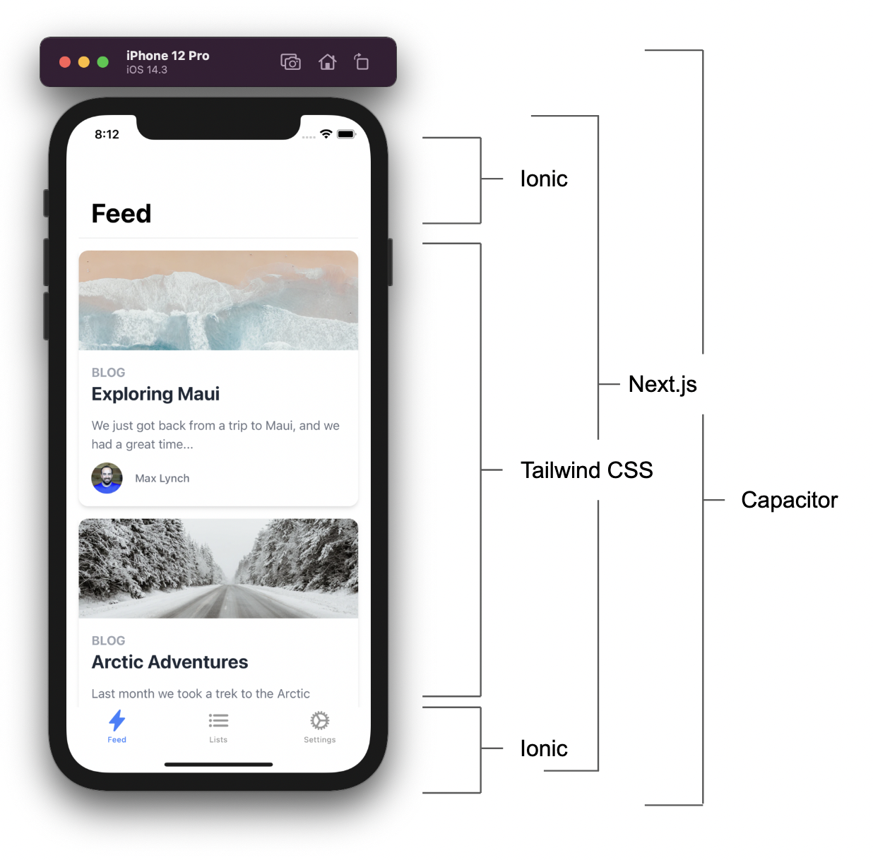 The Mobile Stack Visualized
