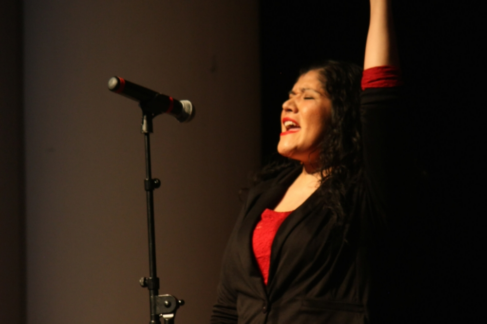 Tanaya performing