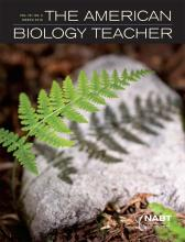 Cogent Education featured in the March 2016 issue of The American Biology Teacher