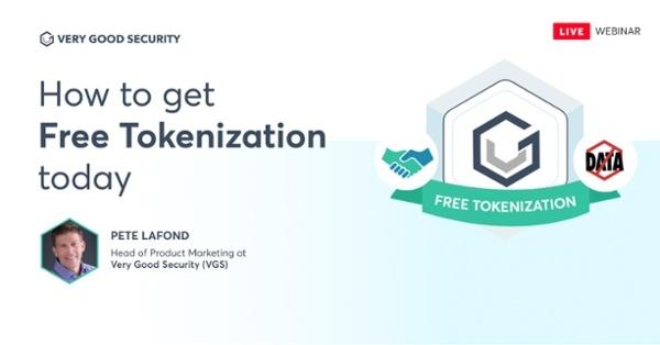 Free tokenization webinar image