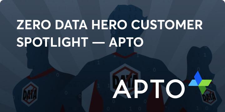 Zero data hero apto blog image