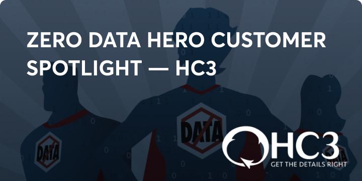 Zero data hero HC3 blog image