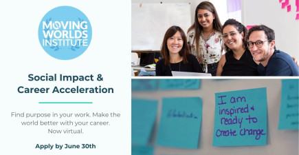 MovingWorlds Institute Social Impact + Career Growth Global Fellowship