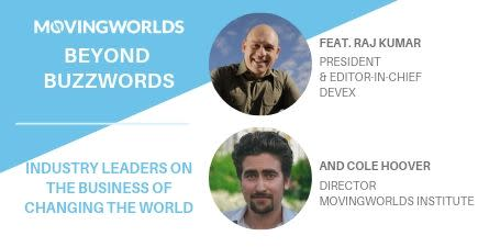 June #BeyondBuzzwords: The Business of Changing the World