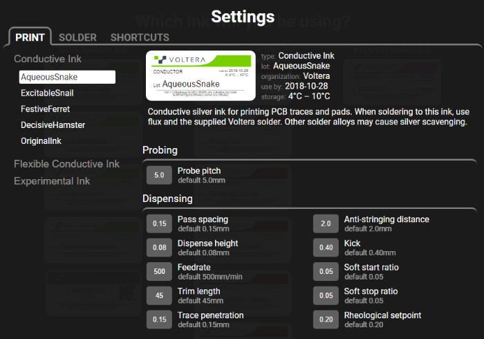 Settings-Overview