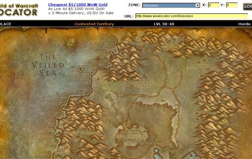 WoW Locator