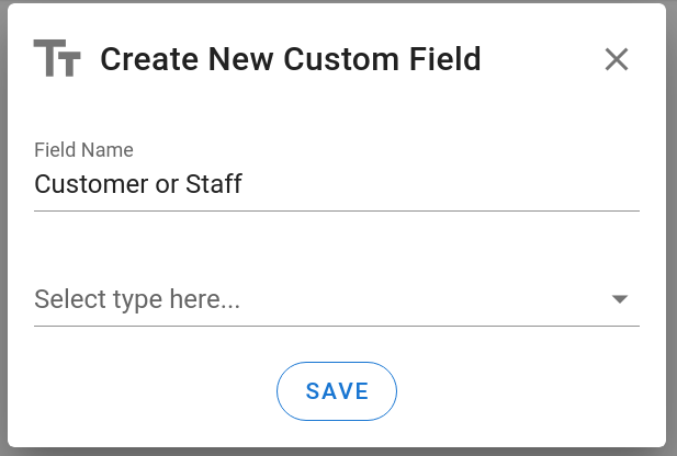 Custom Field Create
