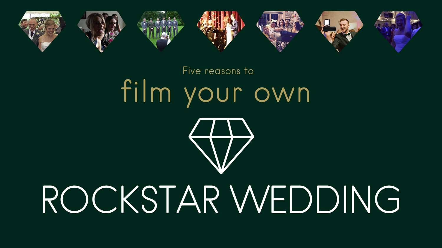 Five Reasons To... Get A Wedding Video