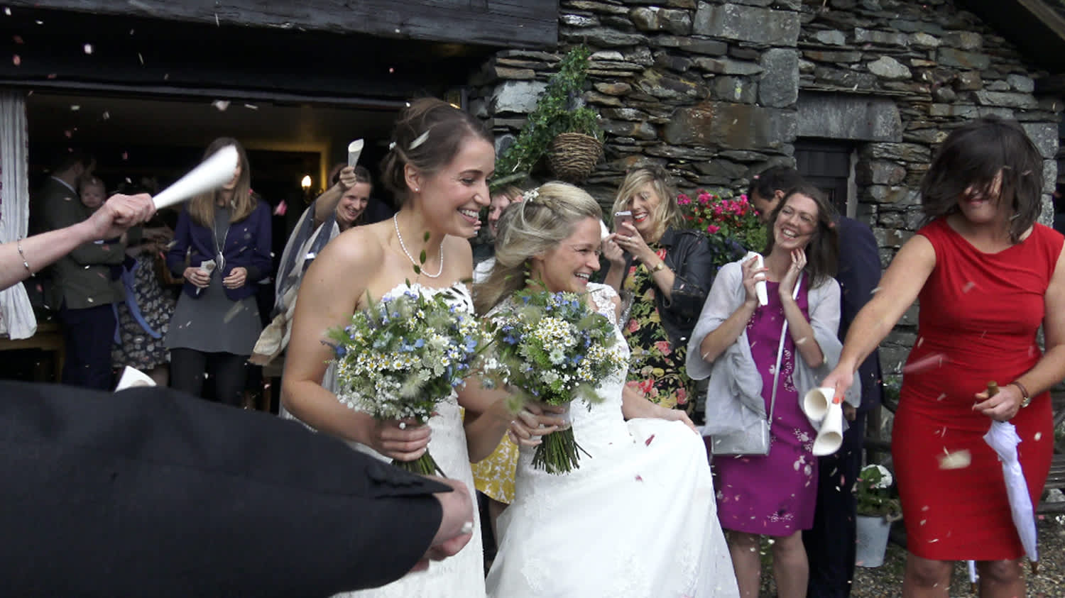 Brides, breezes and a big old celebration!