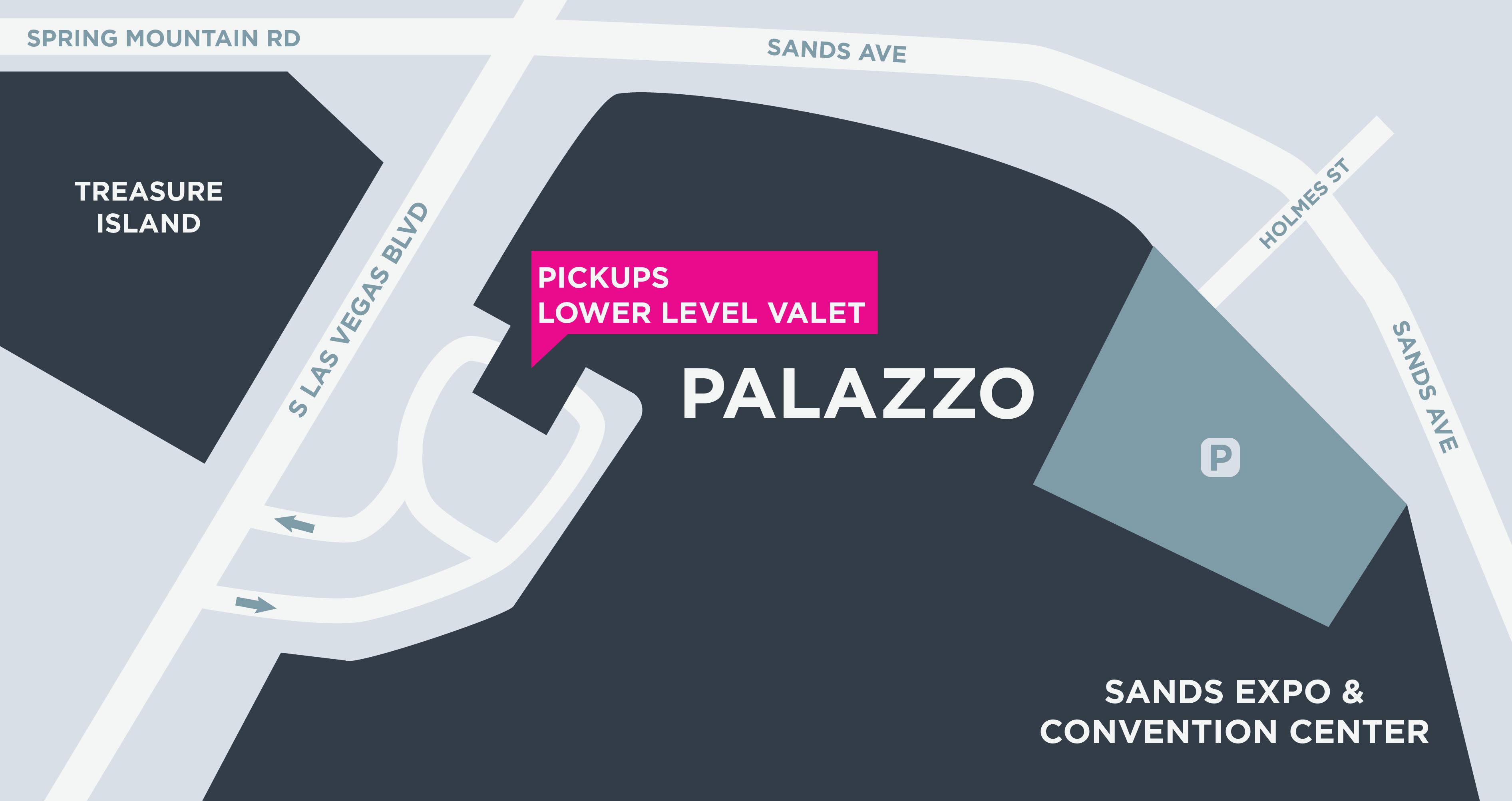 Mapa do Palazzo