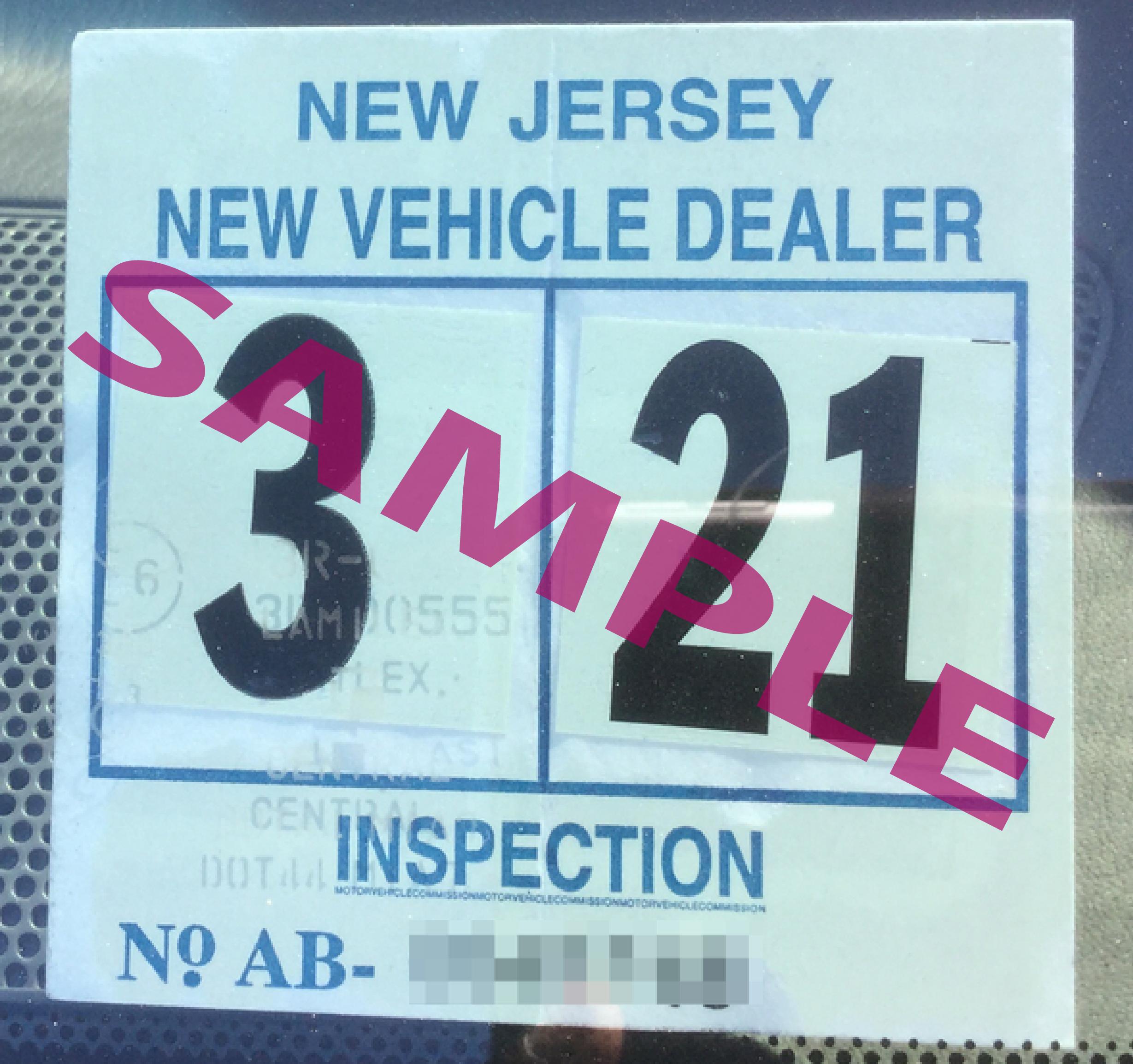 Example NJ sticker 2