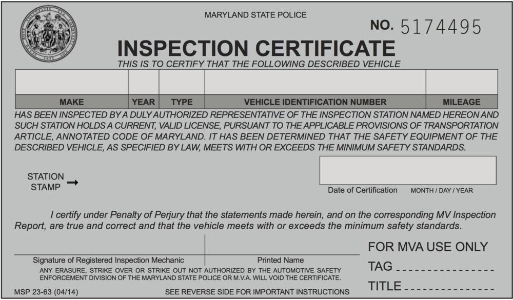 Exemplo de inspeção MD