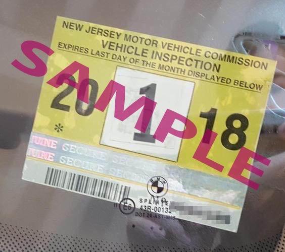 Example NJ sticker