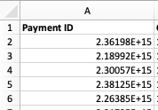 Facebook payment ID scientific