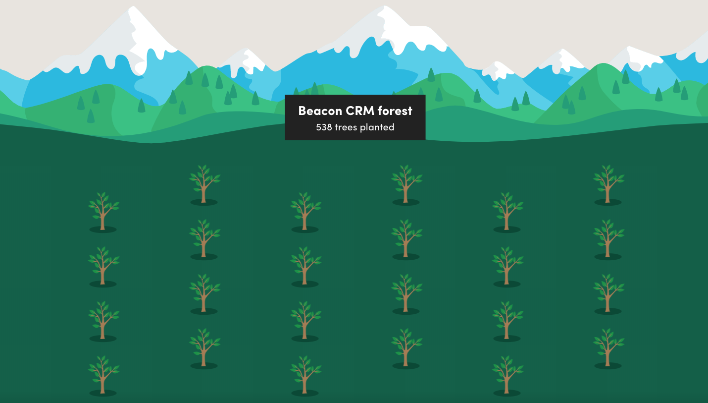 Beacon CRM forest